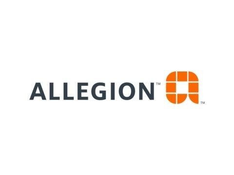 Allegion Logo - Click to go through to the Allegion Website