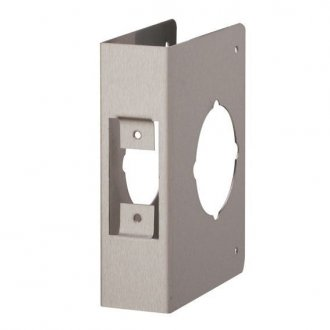 Deadbolt door wrap